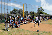 170113 Didi Gregorius Assisting U13 Baseball Coaching Clinic