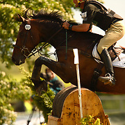 Andrew Nicholson (NZL) and Silbury Hill at the 2007 Punchestown International Three Day Eventing