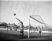 1954 - Soccer: Drumcondra v Cork Athletic at Tolka Park