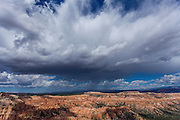 Summer rain storm over Bryce Canyon