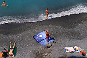 ITALY, Liguria, Camogli.the beach