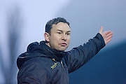 Ross County manager Derek Adams - Ross County v Dundee - Irn Bru Scottish Football League First Division at Victoria Park, Dingwall..- © David Young - .5 Foundry Place - .Monifieth - .DD5 4BB - .Telephone 07765 252616 - .email; davidyoungphoto@gmail.com - .web; www.davidyoungphoto.co.uk