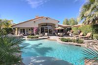 Swimming pool in luxury villa