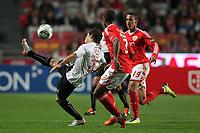 20111029: LISBON, PORTUGAL - SL Benfica vs Olhanense: Portuguese League 2011/2012. <br /> In photo: Olhanense's forward Salvador Agra.<br /> PHOTO: Carlos Rodrigues/CITYFILES