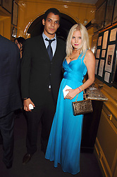 BEN HYPOLITE and MARISSA MONTGOMERY at a dinner hosted by fashion label Issa at Annabel's, Berekely Square, London on 24th April 2007.<br /><br />NON EXCLUSIVE - WORLD RIGHTS