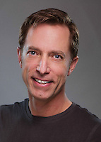 "Company portrait of John Ewing for Missouri Street Theatre's production of ""Once Upon A Mattress."" Photo by Mike Padua."