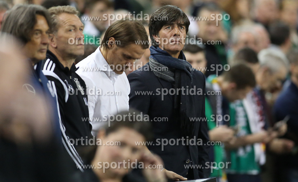 08.10.2015, Avia Stadium, Dublin, IRL, UEFA Euro Qualifikation, Irland vs Deutschland, Gruppe D, im Bild Bundestrainer Joachim Loew // during the UEFA EURO 2016 qualifier group D match between Ireland and Germany at the Avia Stadium in Dublin, Ireland on 2015/10/08. EXPA Pictures &copy; 2015, PhotoCredit: EXPA/ Eibner-Pressefoto/ Risto Bozovic<br /> <br /> *****ATTENTION - OUT of GER*****