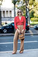 Paris - Street Style - 28 Sep 2016
