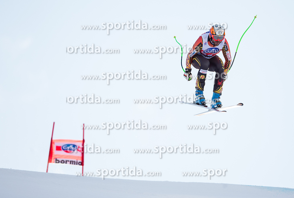 28.12.2013, Stelvio, Bormio, ITA, FIS Ski Weltcup, Bormio, Abfahrt, Herren, 2. Traininglauf, im Bild Jan Hudec (CAN) // Jan Hudec of Canada in action during mens 2nd downhill practice of the Bormio FIS Ski Alpine World Cup at the Stelvio Course in Bormio, Italy on 2012/12/28. EXPA Pictures © 2013, PhotoCredit: EXPA/ Johann Groder
