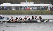 Cambridge, USA, Collegiate Men's Eights, Lehigh University, approaching  the John Weeks footbridge during the  2009 Head of the Charles  Sunday  18/10/2009  [Mandatory Credit Peter Spurrier Intersport Images],.