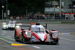 June 17, 2018 - Le Mans, Sarthe, France - Idec Sport ORECA 07 Gibson Driver PAUL LOUP CHATIN (FRA) in action during the 86th edition of the 24 hours of Le Mans 2nd round of the FIA World Endurance Championship at the Sarthe circuit at Le Mans - France (Credit Image: © Pierre Stevenin via ZUMA Wire)