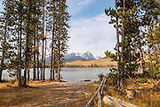 Little Redfish Lake Camp site