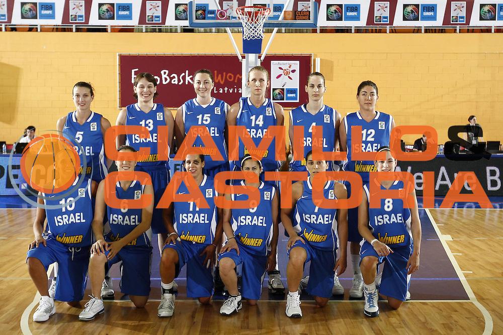 DESCRIZIONE : Valmiera Latvia Lettonia Eurobasket Women 2009 Bielorussia Israele Belarus Israel<br /> GIOCATORE : Team Photo<br /> SQUADRA : Israele Israel<br /> EVENTO : Eurobasket Women 2009 Campionati Europei Donne 2009 <br /> GARA : Bielorussia Israele Belarus Israel<br /> DATA : 07/06/2009 <br /> CATEGORIA : <br /> SPORT : Pallacanestro <br /> AUTORE : Agenzia Ciamillo-Castoria/E.Castoria<br /> Galleria : Eurobasket Women 2009 <br /> Fotonotizia : Valmiera Latvia Lettonia Eurobasket Women 2009 Bielorussia Israele Belarus Israel<br /> Predefinita :