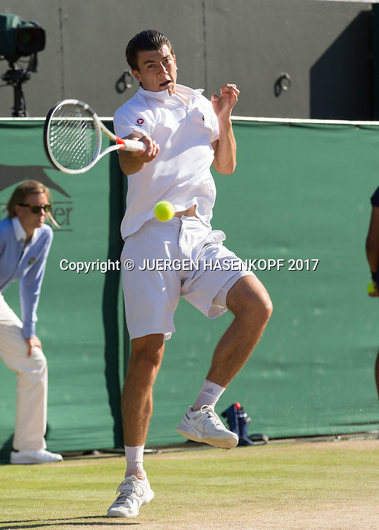 SEBASTIAN OFNER (AUT)<br /> <br /> Tennis - Wimbledon 2017 - Grand Slam ITF / ATP / WTA -  AELTC - London -  - Great Britain  - 8 July 2017.