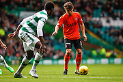 Dundee United Forward Charlie Telfer on the attack during the Ladbrokes Scottish Premiership match between Celtic and Dundee United at Celtic Park, Glasgow, Scotland on 25 October 2015. Photo by Craig McAllister.