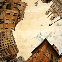 Rome, Piazza di Spagna e Trinità dei Monti