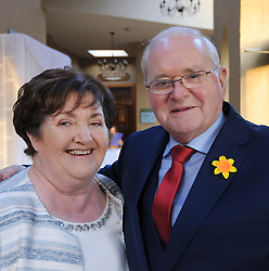 Martin and Kay Curry pictured at Westport Lions Club Clew Bay People of the Year Awards.<br /> Pic Conor McKeown