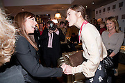 MEL C; kEIRA KNIGHTLEY;;  The Society of London Theatre lunch for all the nominees for the 2010 Laurence Olivier Awards. Haymarket Hotel, 1 Suffolk Place, London, 2 March 2010