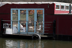 UK ENGLAND LONDON 30APR16 - London Canal houseboat near Haggerston, east London.<br /> <br /> jre/Photo by Jiri Rezac<br /> <br /> © Jiri Rezac 2016