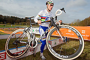 CZECH REPUBLIC / TABOR / WORLD CUP / CYCLING / WIELRENNEN / CYCLISME / CYCLOCROSS / VELDRIJDEN / WERELDBEKER / WORLD CUP / COUPE DU MONDE / #2 / MIKE TEUNISSEN (WORLD CHAMPION U23) /