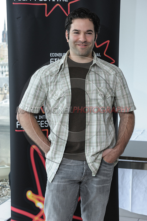 EDINBURGH, SCOTLAND, JUNE 21, 2008: Stephen Susco attends a photocall during the 62nd annual Edinburgh International Film Festival inside the Point Conference Center on Saturday, June 21, 2008 in Edinburgh, Scotland (Martin McNeil)