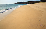 Shell beach, Island of Herm, Channel Islands, Great Britain