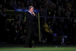 Birmingham City manager Harry Redknapp looks on from the touchline after conceeding during the Sky Bet Championship match at the Pirelli Stadium, Burton.