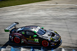 March 14, 2019 - Sebring, Etats Unis - 86 MEYER SHANK RACING W / CURB AGAJANIAN (USA) ACURA NSX GT3 GTD MARIO FARNBACHER (CHE) TRENT HINDMAN (USA) JUSTIN MARKS  (Credit Image: © Panoramic via ZUMA Press)