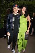 MARC QUINN, GOGA ASHGANASHI, The Serpentine Party pcelebrating the 2019 Serpentine Pavilion created by Junya Ishigami, Presented by the Serpentine Gallery and Chanel,  25 June 2019
