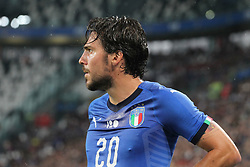 June 4, 2018 - Turin, Piedmont, Italy - Simone Verdi (Italy) during the friendly football match between Italy and Holland at Allianz Stadium on June 04, 2018 in Turin, Italy. Final result: 1-1  (Credit Image: © Massimiliano Ferraro/NurPhoto via ZUMA Press)