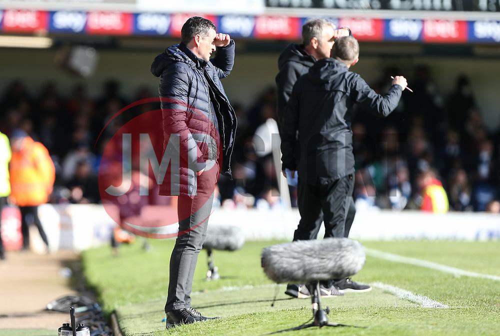 Sunderland manager Jack Ross looks on - Mandatory by-line: Arron Gent/JMP - 04/05/2019 - FOOTBALL - Roots Hall - Southend-on-Sea, England - Southend United v Sunderland - Sky Bet League One