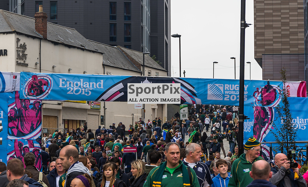 The fanzone before the Rugby World Cup match between Scotland and South Africa (c) ROSS EAGLESHAM | Sportpix.co.uk