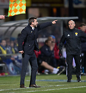 24th November 2017, Dens Park, Dundee, Scotland; Scottish Premier League football, Dundee versus Rangers; Dundee manager Neil McCann