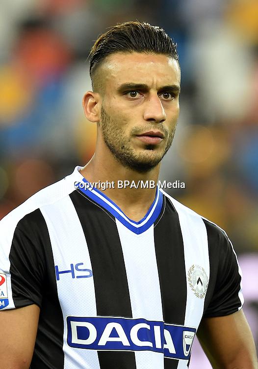 Italian League Serie A -2016-2017 / <br /> ( Udinese Calcio ) - <br /> Ali Adnan Kadhim Al-Tameemi &quot; Ali Adnan Kadhim &quot;