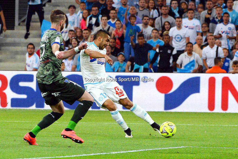 But Dimitri PAYET - 23.05.2015 - Marseille / Bastia - 38e journee Ligue 1<br />Photo : Gaston Petrelli / Icon Sport