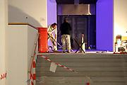 Mannheim. 08.11.17 | Zum Neubau Kunsthalle<br /> Innenstadt. Kunsthalle. Pressegespräch zum Neubau der Neuen Kunsthalle. Die Eröffnung der Neuen Kunsthalle im Dezember nur mit Skulpturen - keine Gemälde wegen technischen Verzögerungen.<br /> <br /> <br /> <br /> <br /> BILD- ID 01543 |<br /> Bild: Markus Prosswitz 08NOV17 / masterpress (Bild ist honorarpflichtig - No Model Release!)