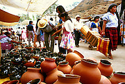 MEXICO, MARKETS, OAXACA Tlacolula, Zapotec indian market