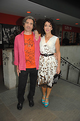 Designer HELEN DAVID and her husband COLIN DAVID at the Roundhouse Rock and Roll Circus - an evening to raise funds for the Roundhouse's continued delivery of projects and facilities for young people, held at The Roundhouse, Chalf Farm Road, London on 12th June 2008.<br />