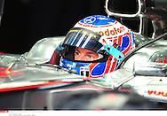 Grand prix de Bahraïn 2010..Circuit de shakir. 12 mars 2010..Premiere séance d'essai...Photo Stéphane Mantey/ L'Equipe. *** Local Caption *** button (jenson) - (gbr) -