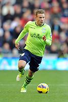 Football - Premier League - Sunderland vs. Aston Villa<br /> Andreas Weimann (Aston Villa) at the Stadium of Light