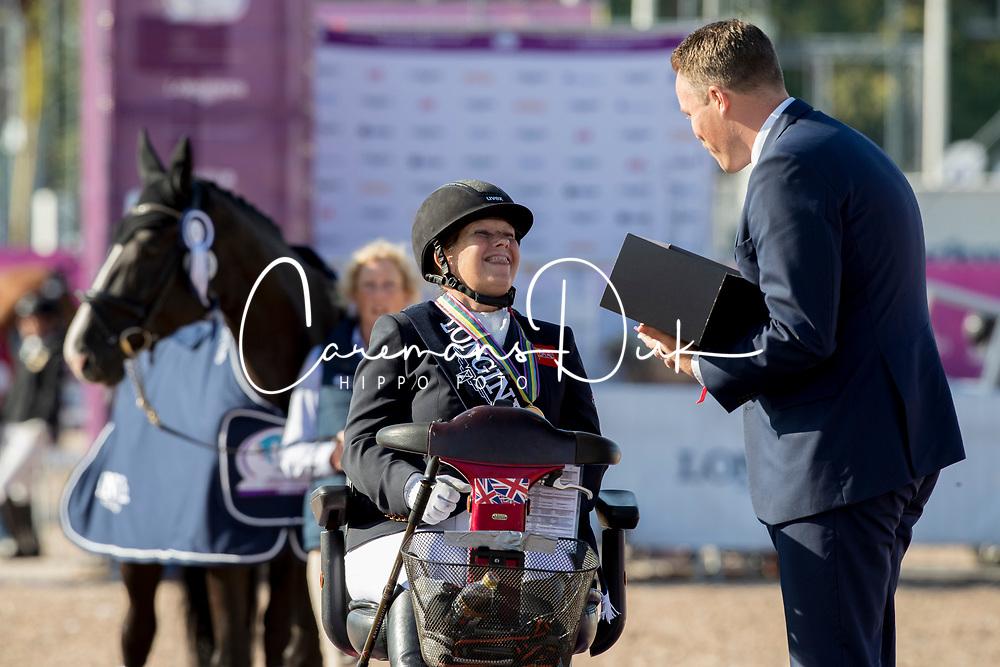 Payne Julie, GBR, Athene Lindebjerg<br /> FEI European Para Dressage Championships - Goteborg 2017 <br /> © Hippo Foto - Dirk Caremans