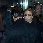 """NLD/Amsterdam/20131105 - Koninging Maxima bezoekt de Hazes musical """"Hij Gelooft in Mij, zus Rachel van Galen"""