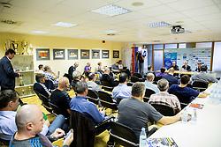 General assembly of Slovenian Handball Federation - RZS, on October 15, 2014 in RZS, Ljubljana, Slovenia. Photo by Vid Ponikvar / Sportida.com