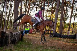 Moris Emilie, BEL, Orinoco van de Bartvelden<br /> LRV Ponie cross - Zoersel 2018<br /> © Hippo Foto - Dirk Caremans<br /> 28/10/2018