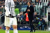Massimiliano Allegri Juventus <br /> Torino 23-02-2016 Juventus Stadium, Football Champions League 2015/2016 Round of 16 Juventus - Bayern Munich / Juventus - Bayern Monaco .  Foto Filippo Alfero / Insidefoto