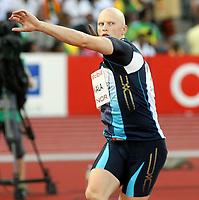 Friidrett , 3. juli 2009 , Golden League , Bislett Games , <br /> <br /> Teemu Wirkkala , FIN