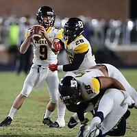 Starkville quarterback Luke Altmyer looks for a receiver in the second quarter.