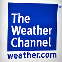 The Weather Channel Studios Sign in Atlanta, Georgia<br /> Chicago TV meteorologist John Coleman developed the concept for The Weather Channel in 1981. He only lasted a year as president before forced out by chief investor Frank Batten, the head of a major media conglomerate called Landmark Communications. The broadcaster&rsquo;s studios and home office are in Atlanta. Public tours are not available. But their sign makes a good photo-op for fans. The Weather Company is now owned by a consortium of investment firms.