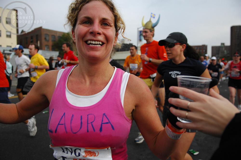 Participants in the Bronx..---.New York, NY - Sunday, Nov. 4, 2007 - The 2007 New York City Marathon...Rob Bennett for The New York Times