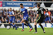 Ipswich Town striker Leon Best (9) during the EFL Sky Bet Championship match between Ipswich Town and Brighton and Hove Albion at Portman Road, Ipswich, England on 27 September 2016.